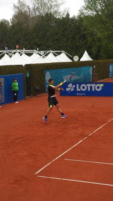 Janko Tipsarevic 2015 ATP Munich Marc Imperatori