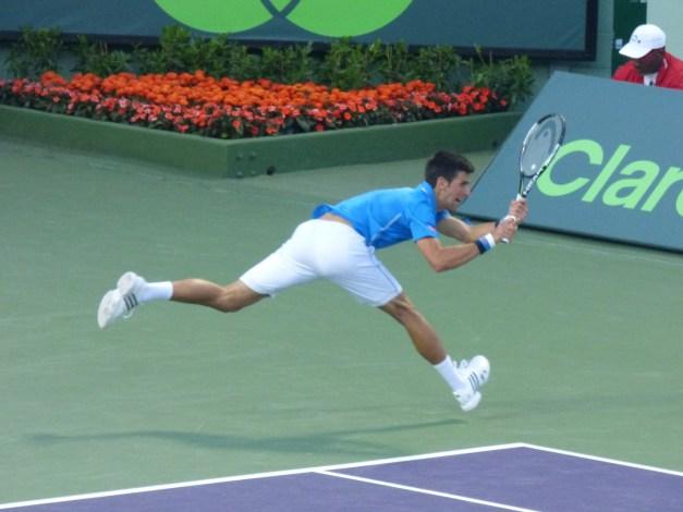Novak Djokovic vs Dolgopolov Miami Open 2015