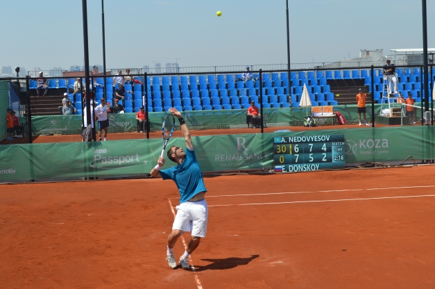Nedovyesov will face Kukushkin (photo credit :Ahmet Fevzi Guclu