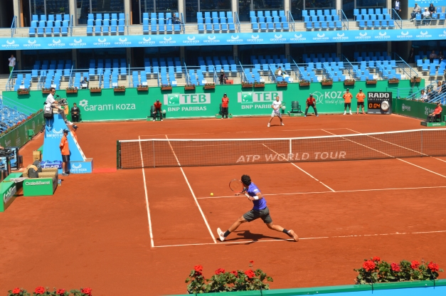 Bellucci stormed past Youzhny (photo credit: Ahmet Fevzi Guclu)