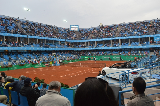 The scene for Giraldo-Rublev (photo credit: Ahmet Fevzi Guclu)