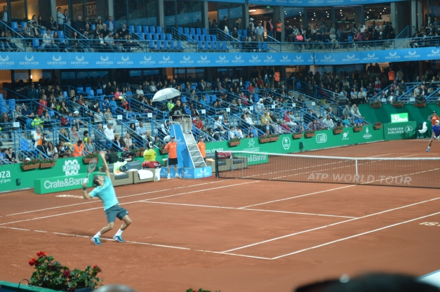 Federer captivated crowds in his Wednesday victory (photo credit: Ahmet Fevzi Guclu)