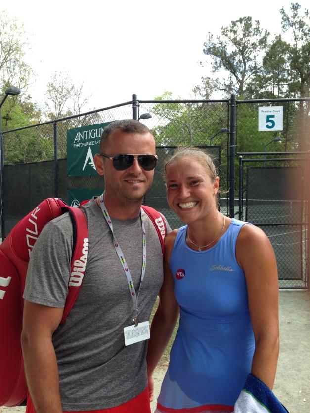 Kateryna Bondarenko & Denis Volodkov (Photo: TennisAtlantic.com)