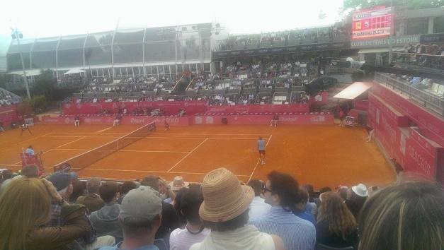 The scene for Kyrgios vs PCB (photo credit: Manuel Traquete)