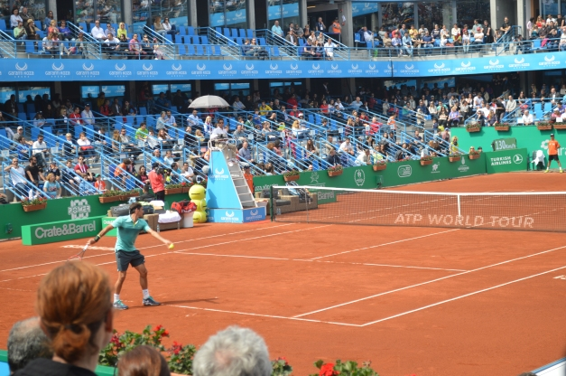 Federer won a thriller (photo credit: Ahmet Fevzi Guclu)