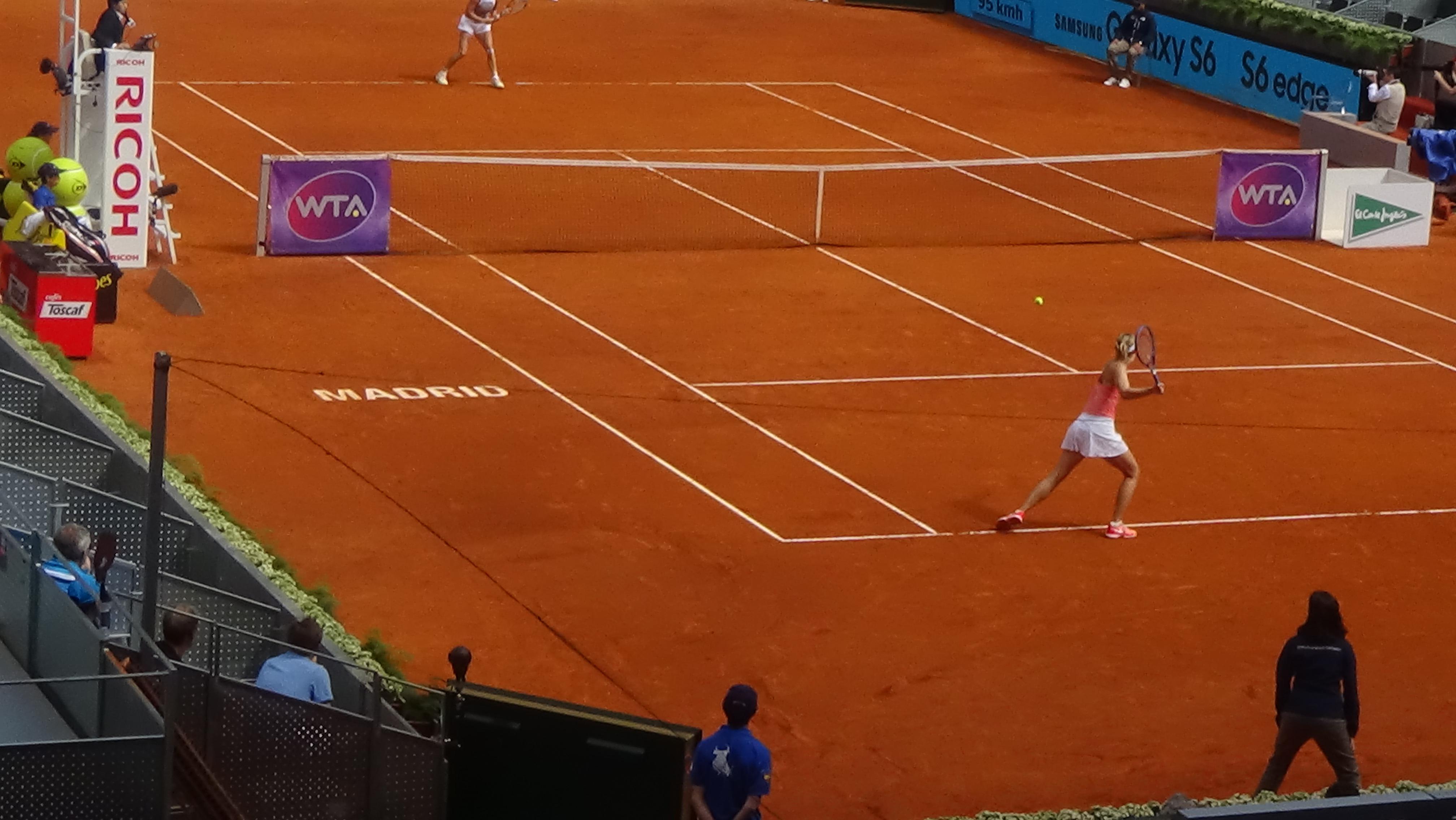 Sharapova Vs Wozniacki