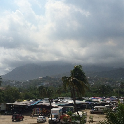 The mountains of Manzanillo, Mexico