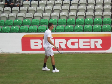 Tomic back in the groove (photo credit: Andreas Thiele)