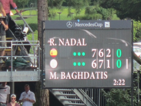 Nadal-Baghdatis went 3 sets (photo credit: Andreas Thiele)