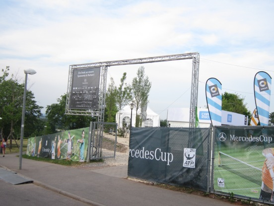 Day 1 at the 2015 Mercedes Cup