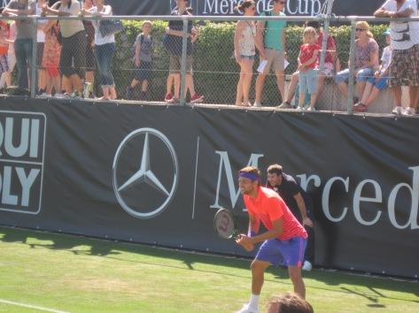 Krajinovic won the match of the day (photo credit: Andreas Thiele)