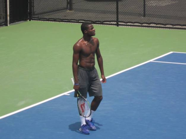 Tiafoe prepping for Atlanta weather early