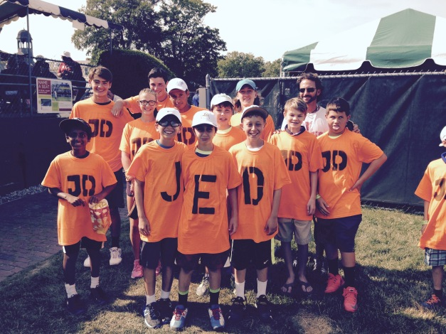 Jared Donaldson Fan Club (members of RI Tennis Academy & Coach Mario Llano)