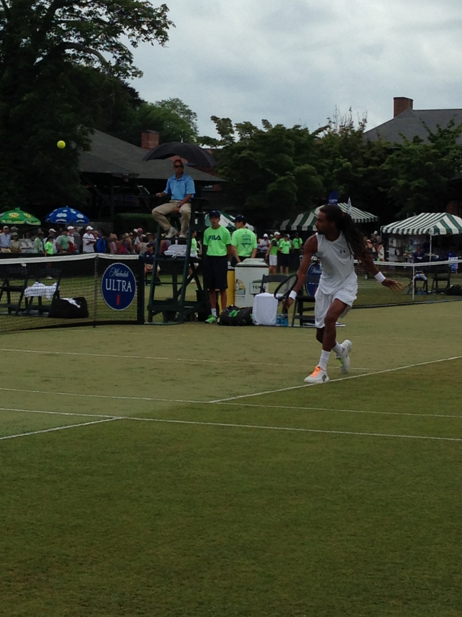 Isner Falls to the Curse of the Cup, Other Seeds Cruise @TennisHalloFame