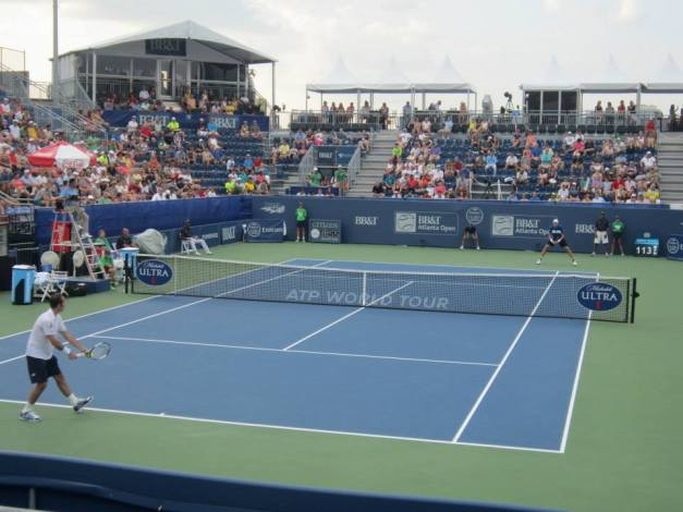 Isner vs. Stepanek