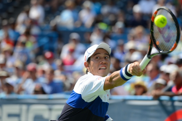 Kei Nishikori (Photo: Christopher Levy @Tennis_Shots)