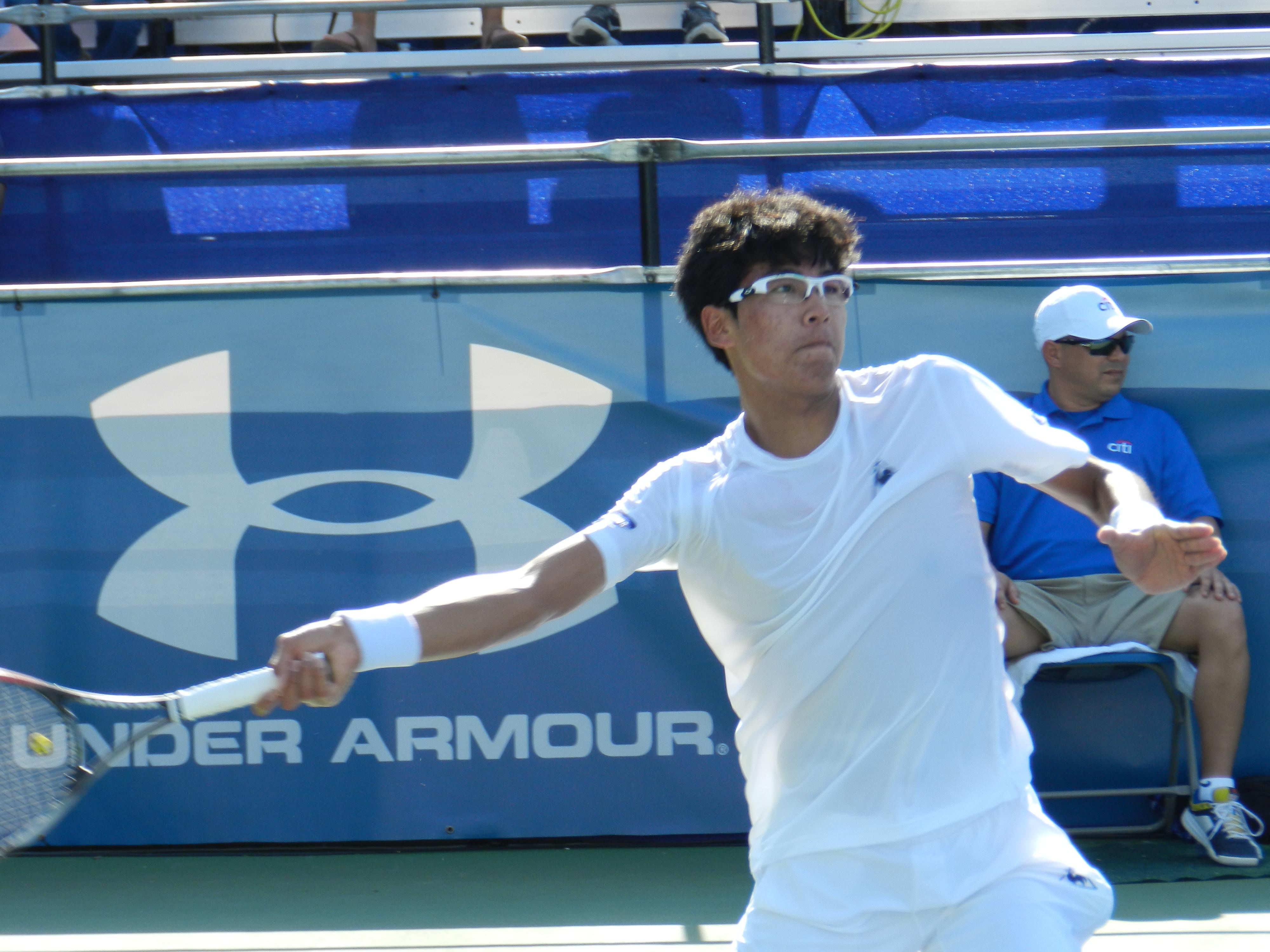 Hyeon Chung (Photo: TennisAtlantic.com)