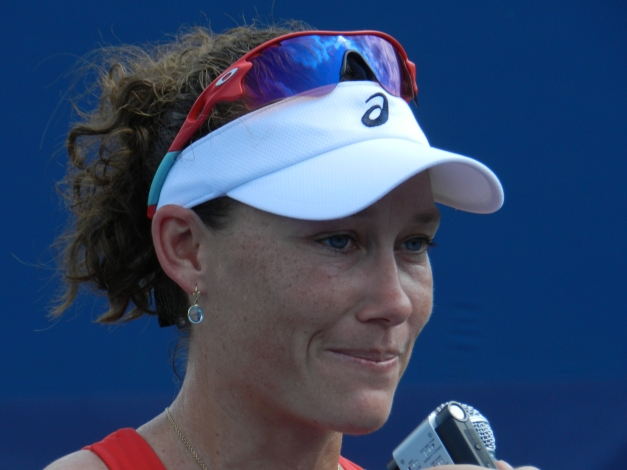 Sam Stosur #500! (Photo: S. Fogleman)
