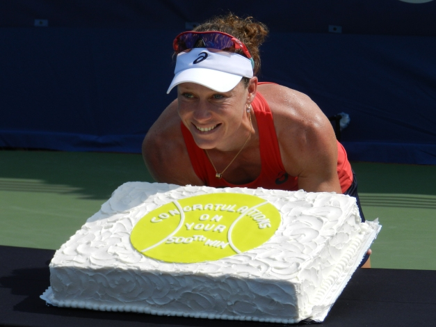Stosur: Career Win #500
