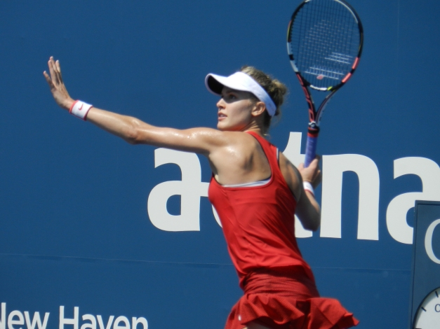 Genie Bouchard, New Haven