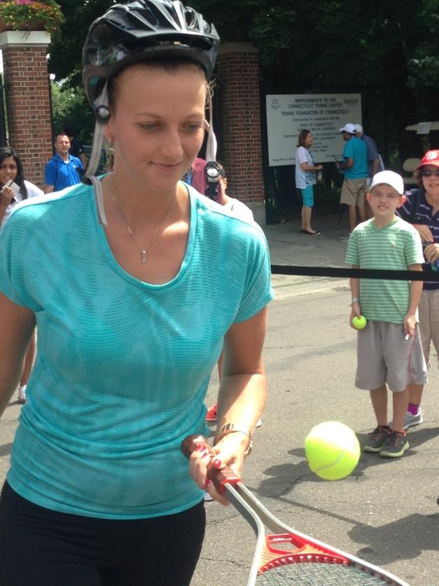 Petra Kvitova, CT Open