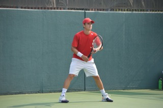 In the few professional tennis events I played while attending Florida  State University, my singles ranking got up to 475 in the world.
