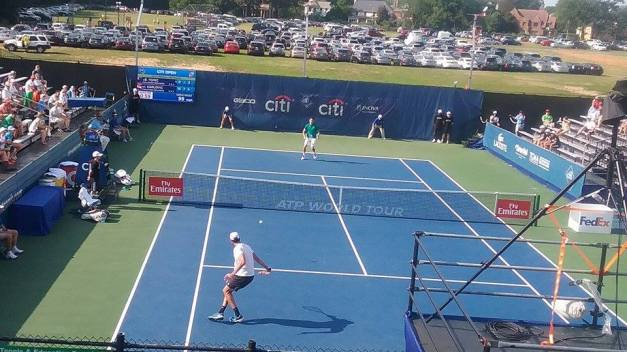 Karlovic vs. Tomic 2016 Citi Open