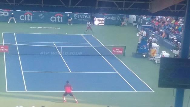 Monfils vs Lu 2016 Citi Open