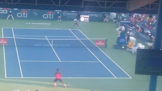 Monfils vs Lu 2016 Citi Open