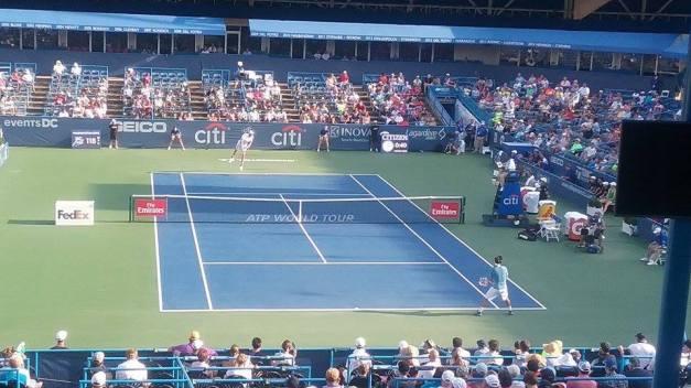 Isner vs. Baghdatis 2016 Citi Open