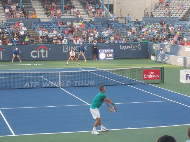 Evans vs Dimitrov 2016 Citi Open