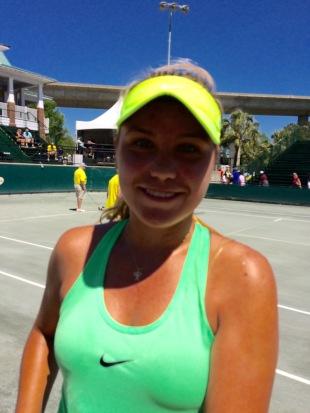Sofia Kenin, Charleston 2017 (TennisAtlantic.com)