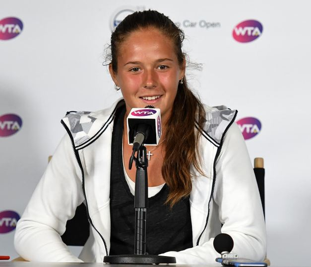 Daria Kasatkina (Photo: Tony Callaio)