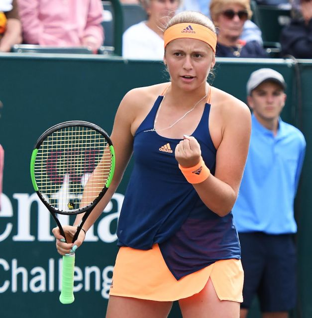 Jelena Ostapenko (Photo: Tony Callaio)