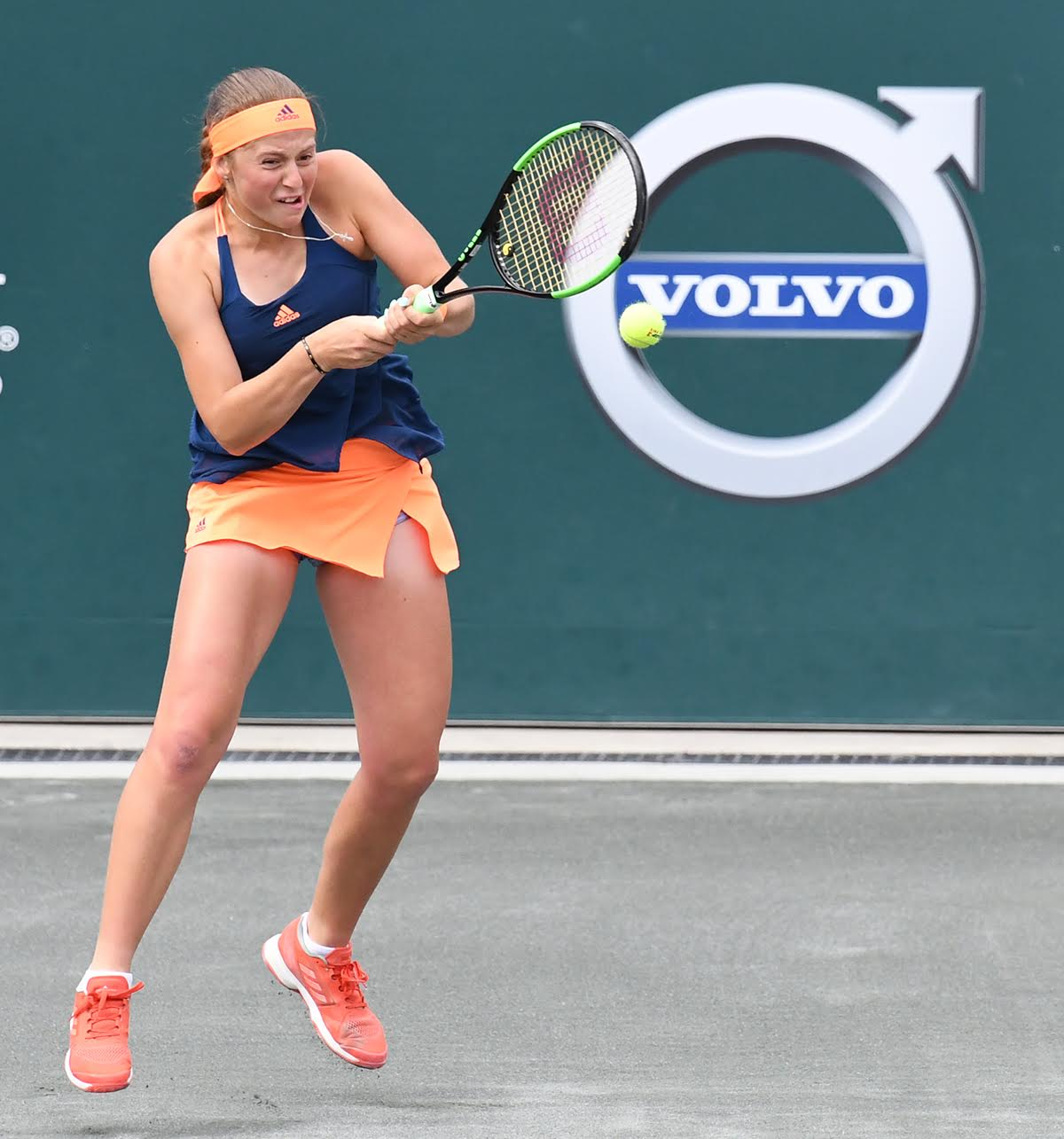 Jelena Ostapenko (Photo: Tony Callaio)