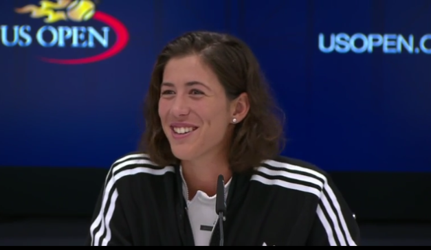 Garbine Muguruza, 2017 US Open