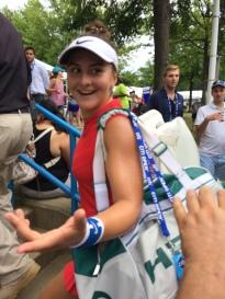 Bianca Andreescu, 2017 Citi Open (Photo: Tennis Atlantic)