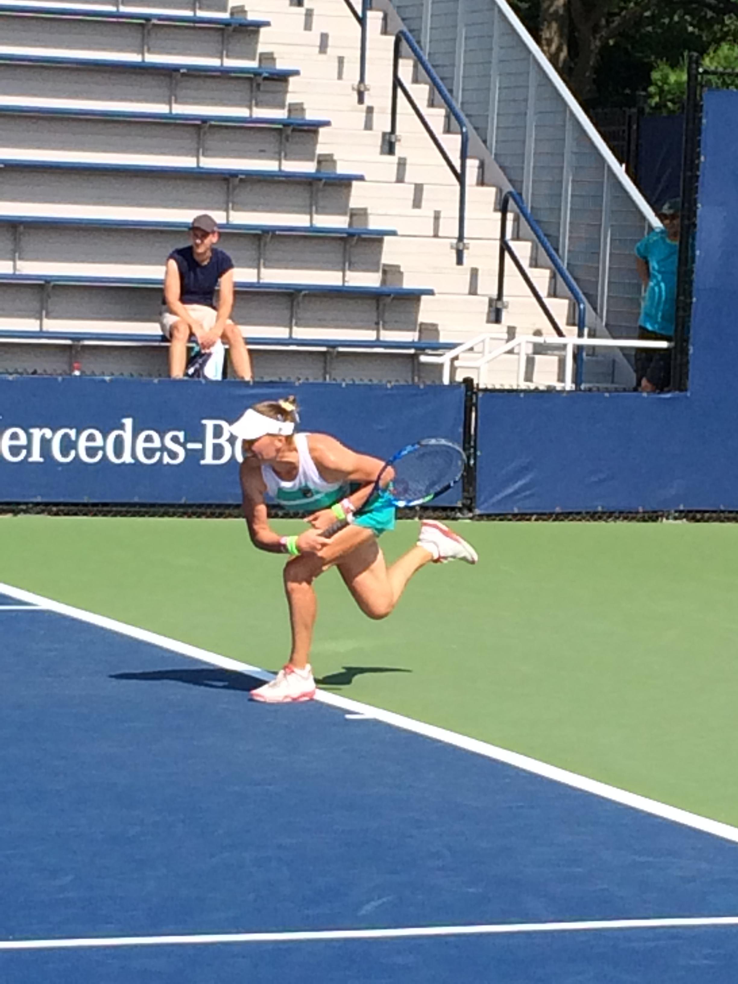 Vera Zvonareva, 2017 US Open