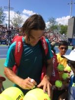 Stefano Travaglia, 2017 US Open