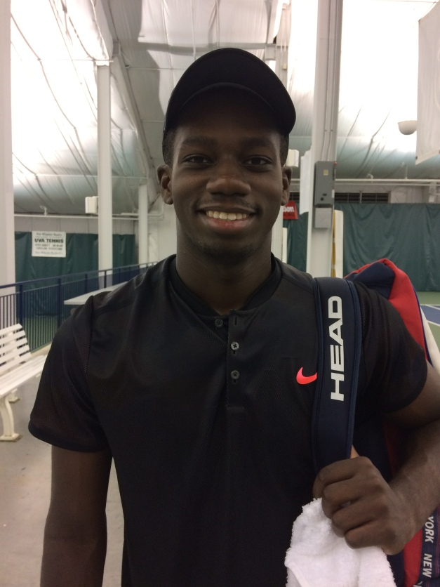 Danny Thomas, 2017 Charlottesville Challenger (Photo: TennisAtlantic.com)