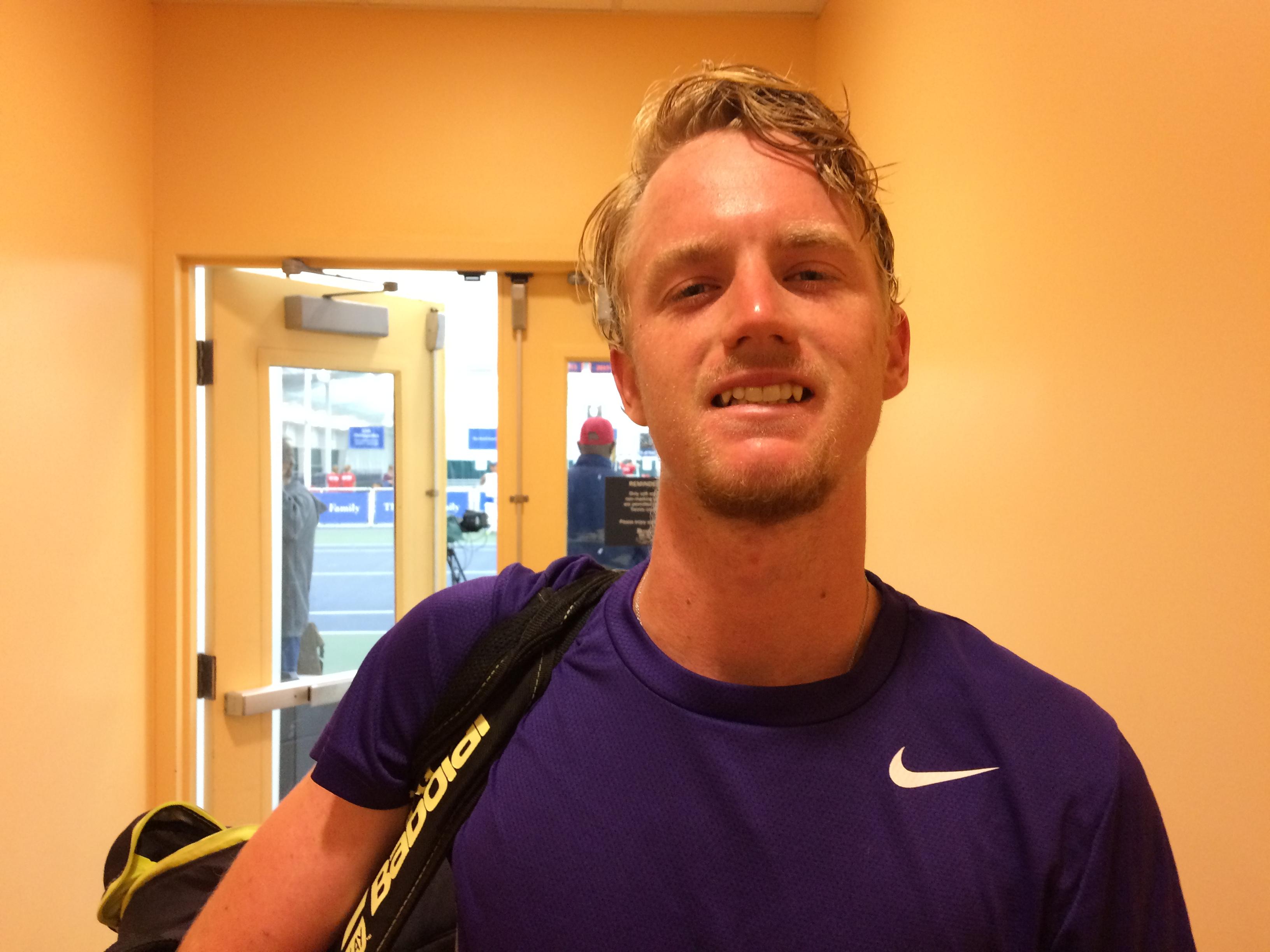 Alex Rybakov, 2017 Charlottesville Challenger (Photo: TennisAtlantic.com)