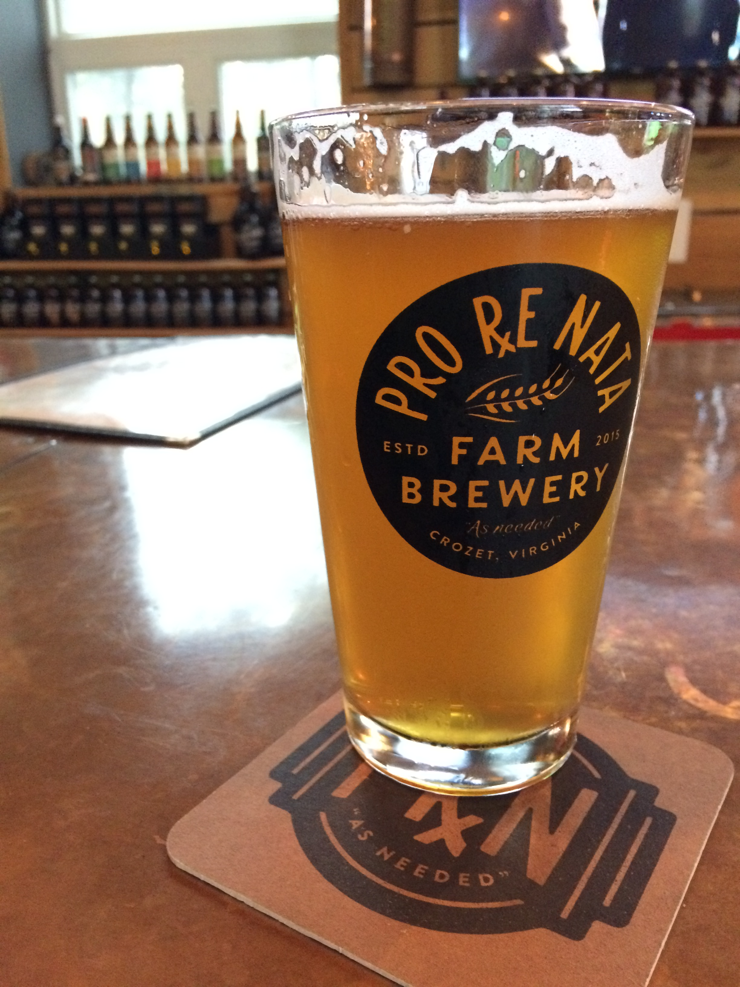 Rx For Sore Thumbs: Pro Re Nata Farm Brewery