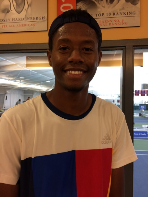Chris Eubanks, 2017 Charlottesville Challenger (Photo: TennisAtlantic.com)