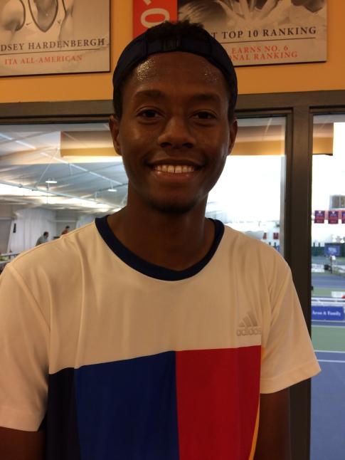 Chris Eubanks, 2017 Charlottesville Challenger (Photo: TennisAtlantic.com)
