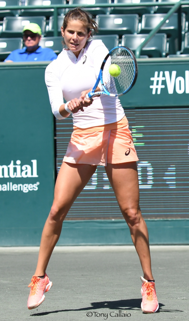 Julia Goerges, 2018 Volvo Open (Photo: Tony Callaio)