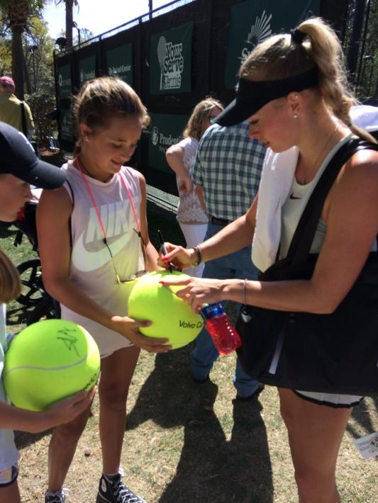 Fanny Stollar, 2018 Volvo Car Open (Photo: Tennis Atlantic)