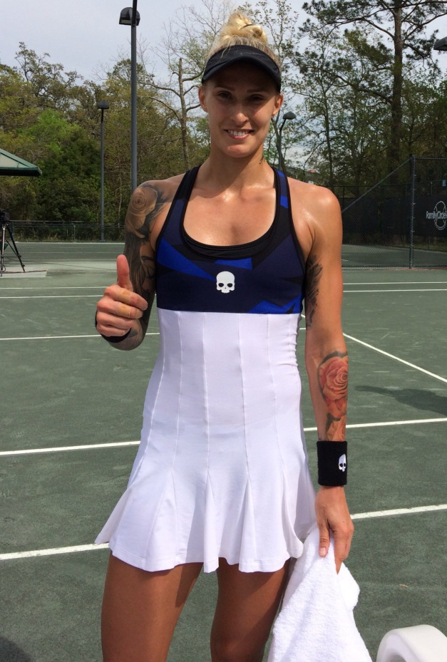 Polona Hercog, 2018 Volvo Car Open (Photo: Tennis Atlantic)
