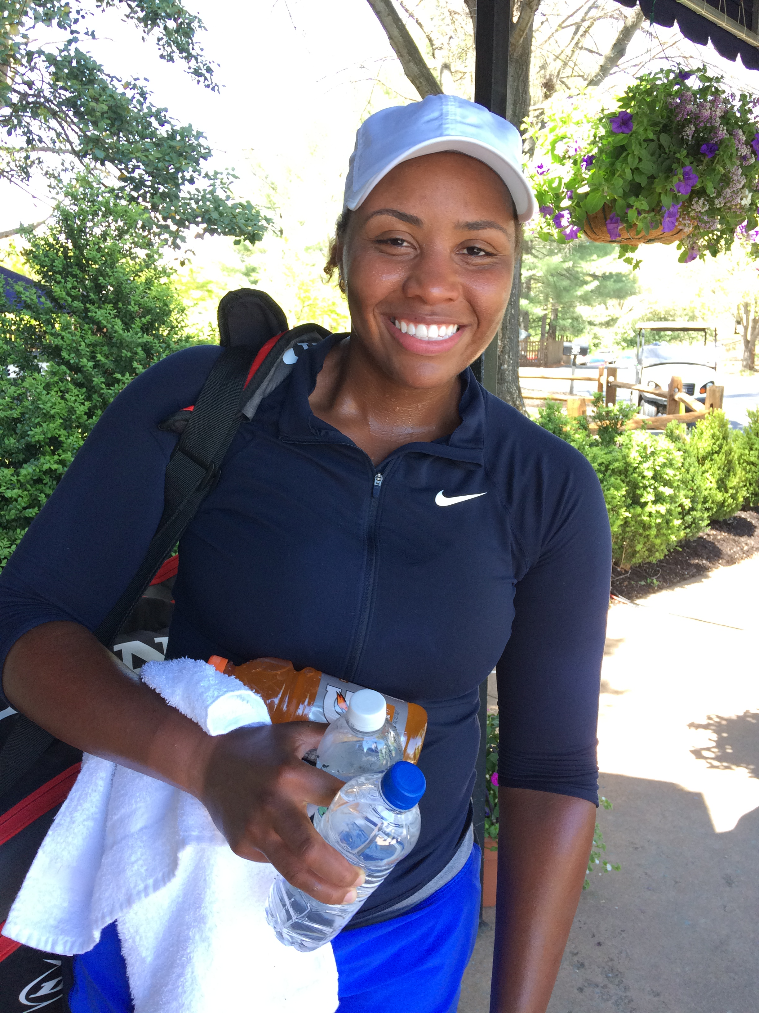 Taylor Townsend, 2018 Boyd Tinsley Women's Clay Court Classic