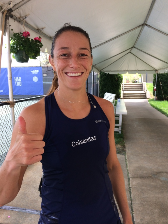 Mariana Duque Marino, 2018 Boyd Tinsley Women's Clay Court Classic