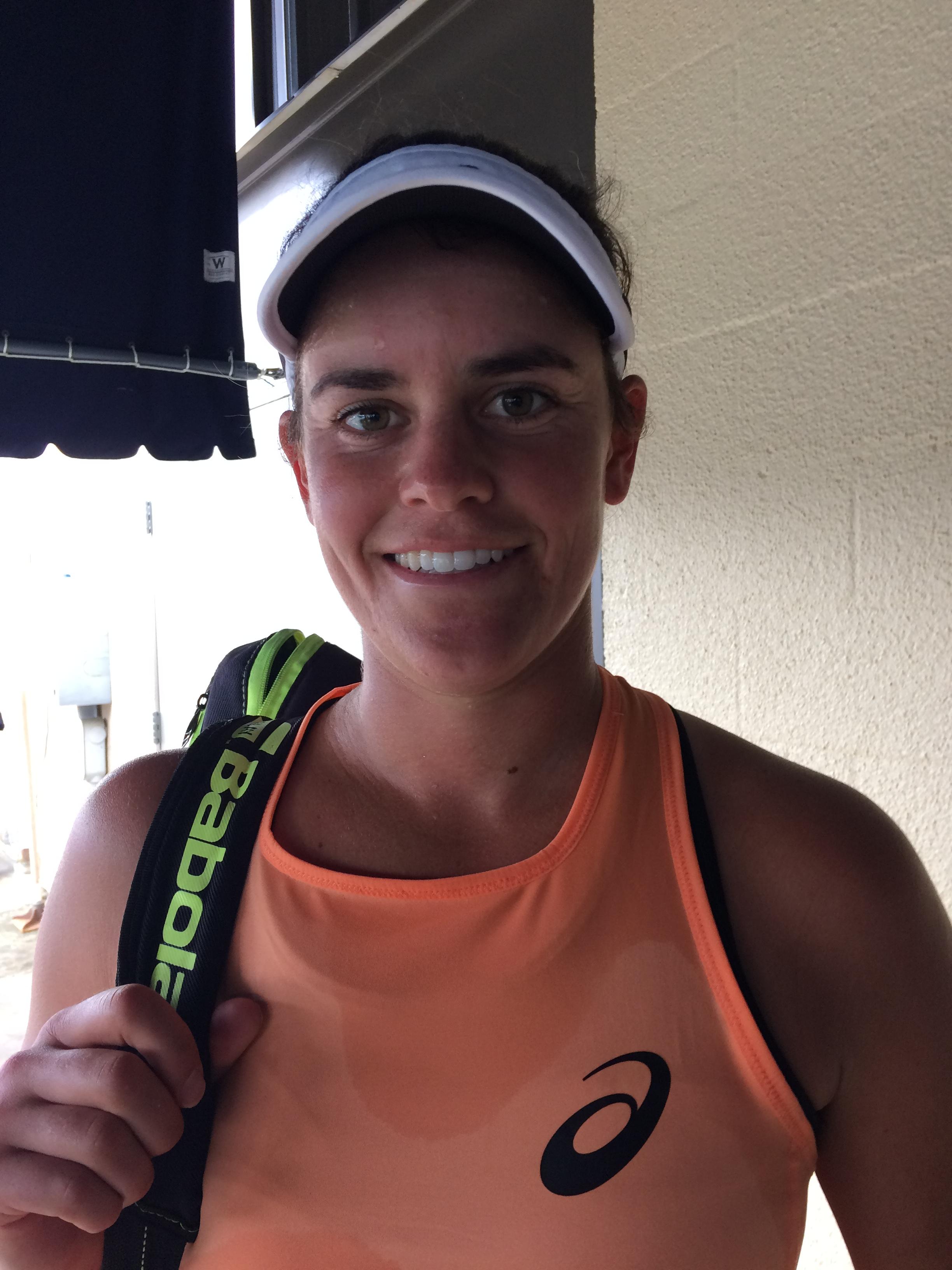 Jen Brady, 2018 Boyd Tinsley Women's Clay Court Classic